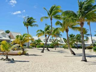 Cozy apartment on the beach, under coconut trees - Baie Nettle vacation rentals