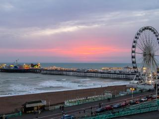 Luxury Seaview Apartment with Parking - Brighton vacation rentals