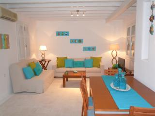 Mykonian 3 bedroom house steps from Ornos beach - Ornos vacation rentals