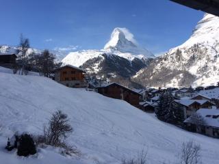 Apartment Alba with stunning views of Matterhorn - Zermatt vacation rentals