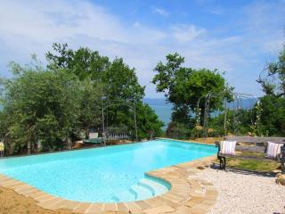 Private villa with pool and stunning lake views - San Feliciano sul Trasimeno vacation rentals