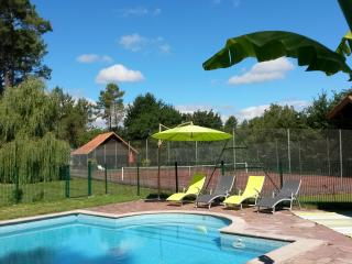 Maison de charme 12 personne piscine tennis privés - Laluque vacation rentals