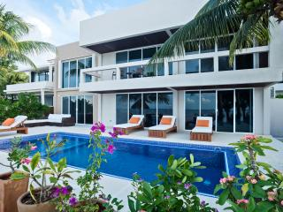 Magnificent 4 Bedroom Villa on White Sandy Beach - Cozumel vacation rentals