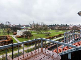 Central Penthouse 4 balconies view Kings Garden! - Copenhagen vacation rentals