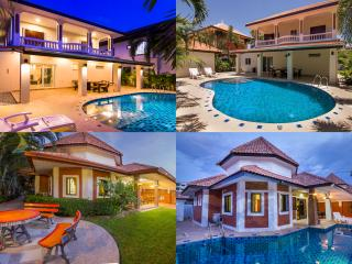 Beautiful villa's on the same compound with pools - Jomtien Beach vacation rentals