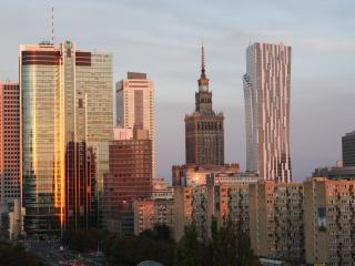 Apartment with swimming pool, sauna, gym & view - Warsaw vacation rentals