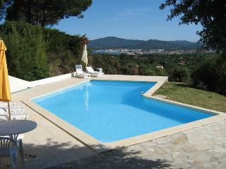 View for rent, comes with lovely villa and pool - Grimaud vacation rentals