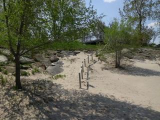 Lakefront Home with Fully-Private Beach! - Huron vacation rentals