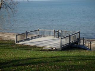 Lakefront Home, FULLY-PRIVATE Beach! - Huron vacation rentals