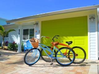 Sunshine Cottage - Private 30' Pool and Boat Dock, and steps away from the beach - Anna Maria vacation rentals