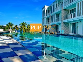 2Br with beachfront condo - Malibu By Puppap 053 - Khao Tao vacation rentals
