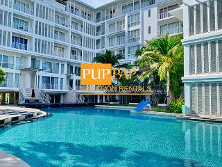 Nice 2Br with beachfront - Malibu By Puppap 052 - Khao Tao vacation rentals