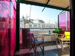 Cozy Condo with Swing Set and Television - Thessaloniki vacation rentals