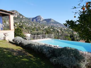 Villa with infinity pool and spectacular views - Vence vacation rentals