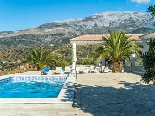 Beautiful secluded luxury villa with fantastic mountain view + own pool - Malaga vacation rentals