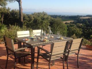 Modern 4 bedroom villa with heated pool - Aragon vacation rentals