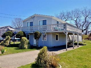 Book Now!! Sunny 2BR Narragansett Home w/Huge Wraparound Deck & Outdoor Shower - Steps from Fishermen's Memorial State Park - Narragansett vacation rentals