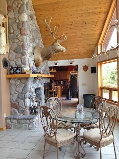 Beautiful 3BR Lakefront Cottage in the Upper Peninsula - Peaceful Setting w/Cobblestone Fire Pit & Private Dock! - Iron River vacation rentals