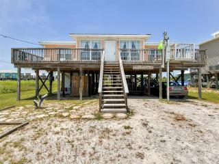 Breathtaking 3BR Dauphin Island Cottage w/Private Deck & Great Gulf of Mexico Views - Near Beautiful Beaches & Local Attractions! - Dauphin Island vacation rentals