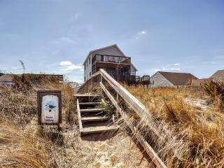 Very Quiet 4BR Oceanfront Milford House on Prime Hook Beach w/2-Story Porch, Wifi & Gorgeous Bay Views - Steps from the Beach! - Milford vacation rentals