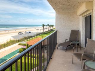 New Listing! Tropical Beachfront 2BR Daytona Beach Shores Condo w/Private Patio, Pool Access & Panoramic Ocean Views - Easy Access to Beaches, Dining, Sporting Events & More! - Daytona Beach Shores vacation rentals
