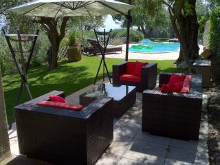Mas Des Oliviers : tout confort&piscine chauffée - Chateauneuf de Grasse vacation rentals