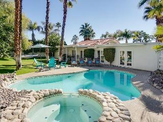 Lagoon Pool Under the Palms - A Tropical Setting With Mountain Views - Palm Springs vacation rentals