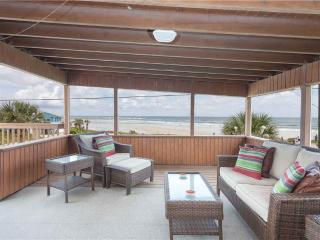 Lenoras Pelican Beach House, 4 Bedroom, OceanFront, Pet Friendly, Sleeps 10 - Saint Augustine vacation rentals