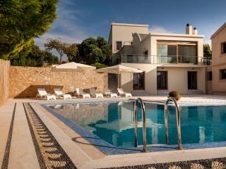 Luxury Villa Angels with Landscape and Sea Views - Kounoupidiana vacation rentals