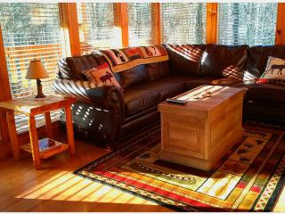 Rustic Elegant Peaceful 2 BR Mountain Cabin - Gatlinburg vacation rentals