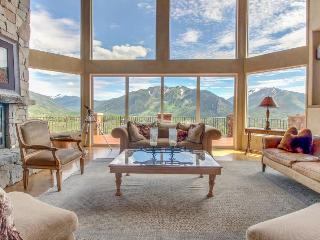 Luxury mountain estate w/ private hot tub & panoramic mountain views! - Aspen vacation rentals