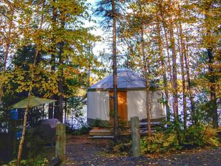 Cozy Glamping Yurt by the Lake - Markstay vacation rentals