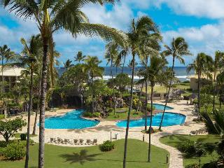 Ocean Front,1st Fl,No Booking/WiFi Fee,2 beds - Lihue vacation rentals