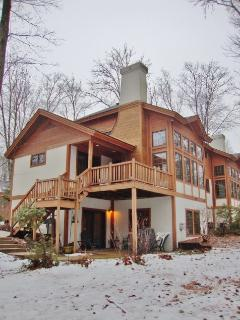 Cozy 3BR Boyne Falls Townhome w/Wifi, Fireplace & Forest Views - Just 300 Yards from the Ski Lift & Close to Restaurants & Boyne Mountain Grand Lodge! - Boyne Falls vacation rentals