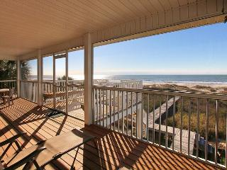 Beachfront, 3BR, 3 Bath, Screened Porch, Private Boardwalk*05/22/16 $2200/wk - Port Saint Joe vacation rentals