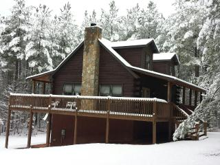 Big LOG CABIN/Blue Ridge Mtns- min to LAKE.Pets ok - Mill Spring vacation rentals