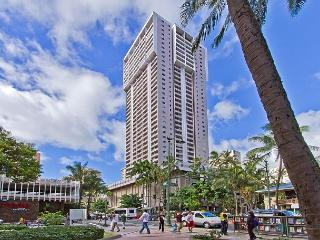 Rarely Available Ocean View 2BR, 2BA, Reserved Parking Royal Kuhio Condo - Honolulu vacation rentals
