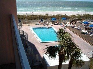 Heated Pool, Private Beach, Gulf of Mexico - FL Beachfront Condo Gulf of Mexico, Pool, Tennis - Indian Rocks Beach - rentals