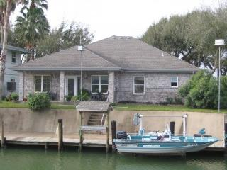 Waterfront Canal Home at 124 Palm Drive - Rockport vacation rentals