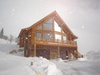 Slopeside Log Home at Powder Mountain, Utah - Eden vacation rentals