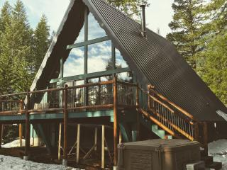 Beautiful A Frame skiing/hiking/fishing cabin - Packwood vacation rentals