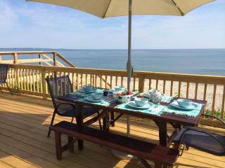 PRIVATE BEACHFRONT PARADISE - East Sandwich vacation rentals
