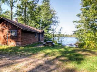 Lovely 2BR Danbury Cabin w/Shared Dock, Outdoor Firepit & Spectacular Water Views - Unbeatable Lakefront Location! Direct Access to ATV Trails & Close to St. Croix National Scenic Riverway! - Markville vacation rentals