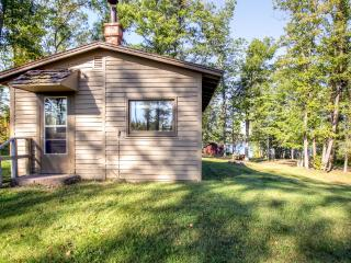 Enchanting Danbury Studio Cabin w/Shared Dock, Outdoor Firepit & Spectacular Water Views - Direct Access to ATV Trails & Close to St. Croix National Scenic Riverway! - Markville vacation rentals
