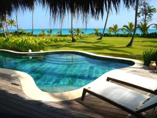 Luxury Ocean Front Villa with Pool at Playa Bonita - Las Terrenas vacation rentals