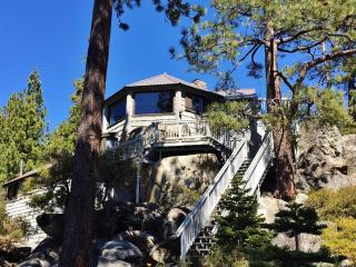 'The Rockpile'  - Old Tahoe Rustic Charm, Like Staying in a Treehouse! 3BR Brockway/Kings Beach House w/Private Hot Tub, Sauna, and Phenomenal Lake Views - Close to Beaches, Hiking Trails & Everything Tahoe Has to Offer! - Kings Beach vacation rentals