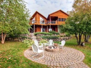 Immaculate 3BR Waterfront Rice Lake House w/Wifi, DCS Gas Grill, Fire Pit & Breathtaking Lake Views - Private Dock Available! Astounding Fishing, Hiking & Boating - Rice Lake vacation rentals