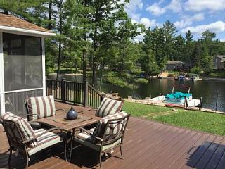 Lake Front Home on Secord Lake with Private Beach - Gladwin vacation rentals