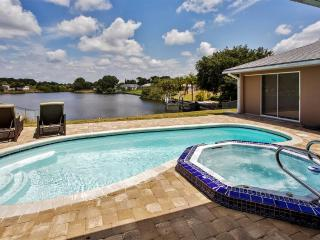 Elegant and Relaxing 3BR Port Charlotte House w/Private Outdoor Pool + Spa, Beautiful Lanai & Lake Views - Minutes to Gulf Beaches, Golf and Much More! - Port Charlotte vacation rentals