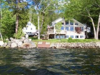 Beautiful 4 Bedroom Waterfront Home on Embden Lake - North Anson vacation rentals
